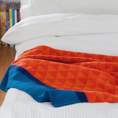 Blanket | Blue/Orange