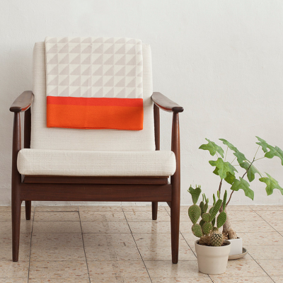 Blanket | Orange/Beige