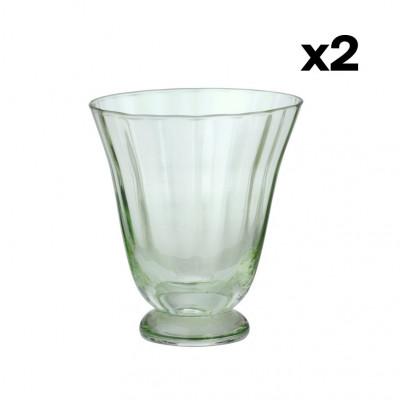 2er-Set Wasserglas Trellis | Ivy