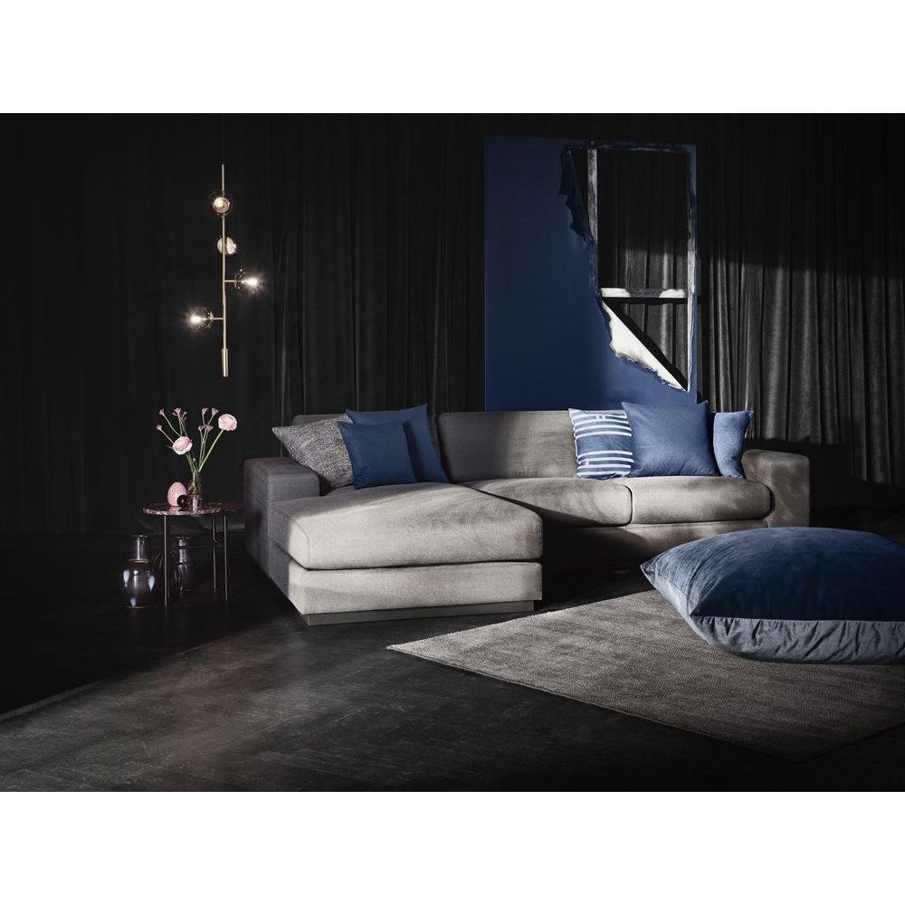 Sepia-Sofa 4-Sitzer | Chaiselongue rechts