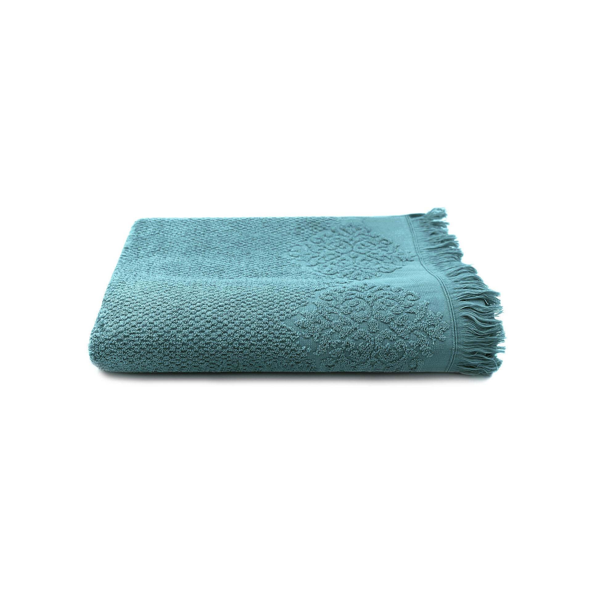 Handtuch Bella 100 x 150 cm   Petrolblau