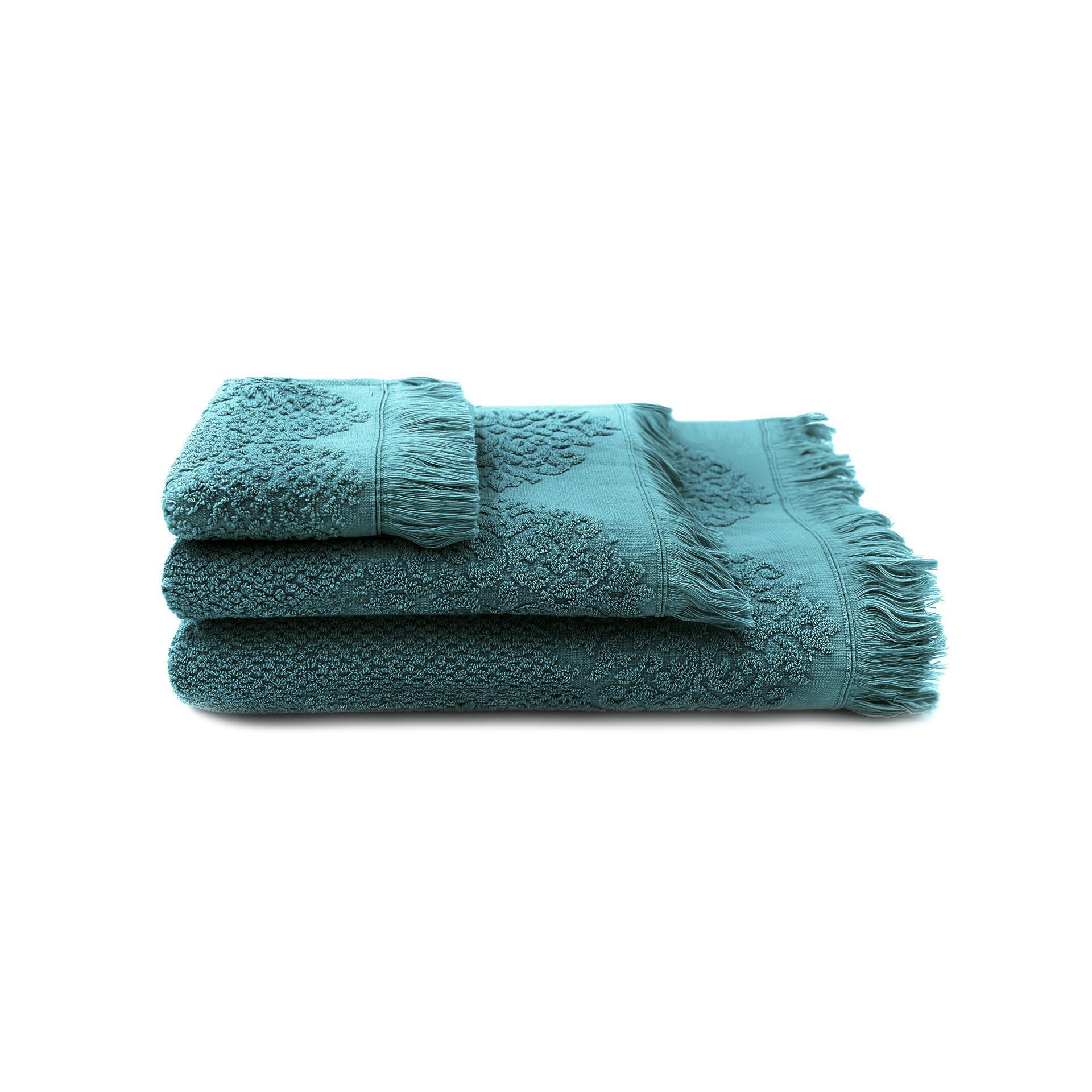 Handtuch Bella 3-er Set | Petrol