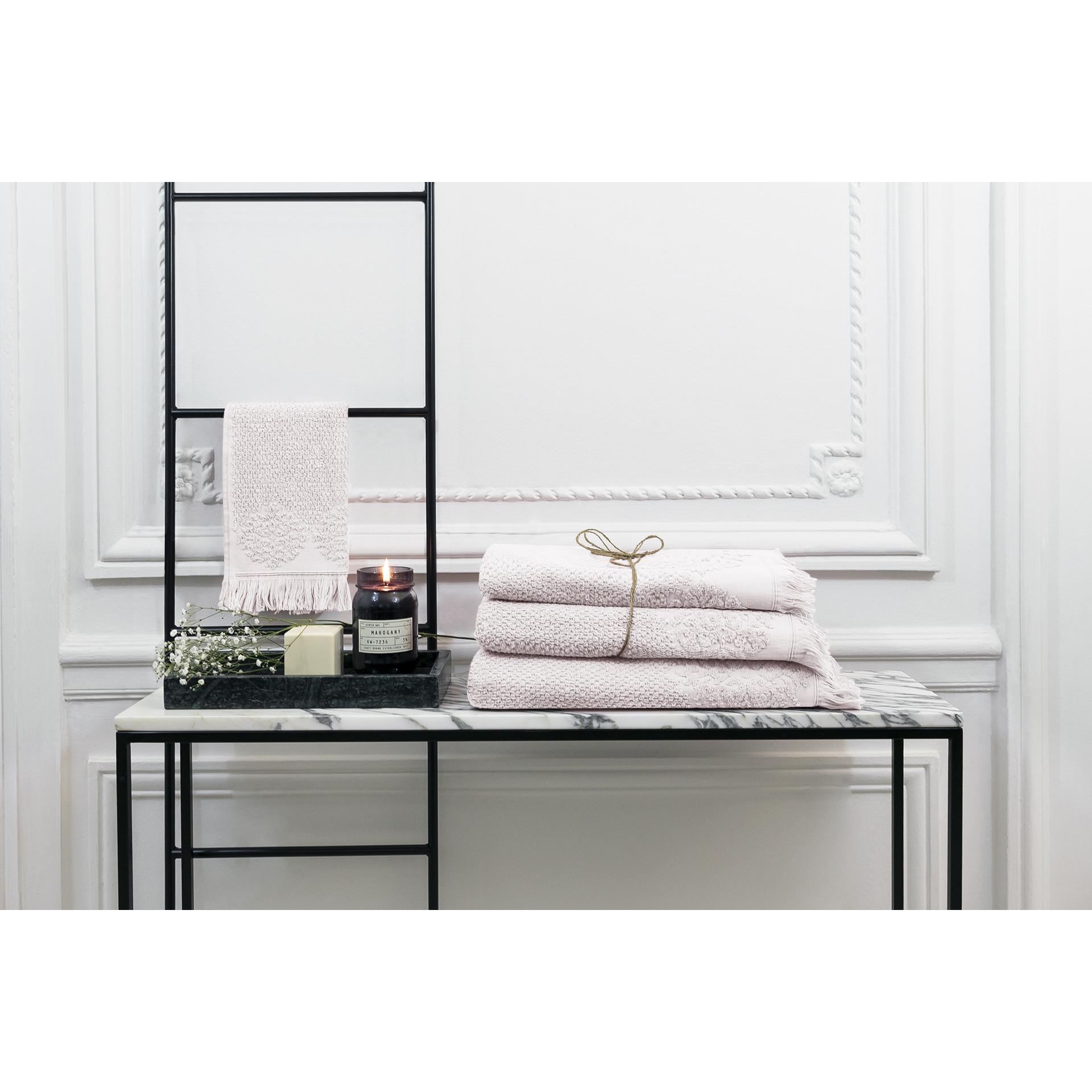 Handtuch Bella 100 x 150 cm | Perle
