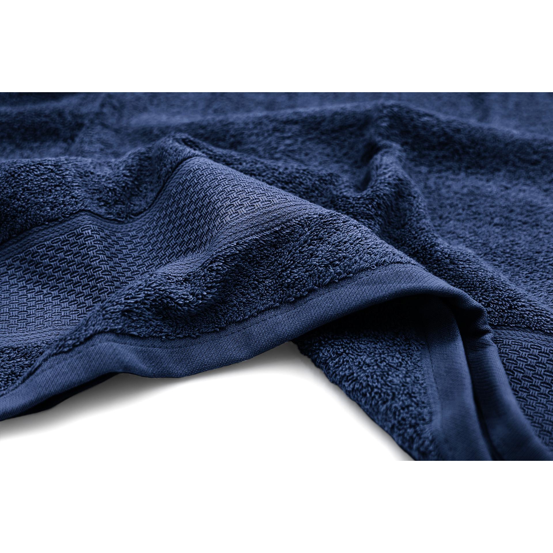 Serviette de bain James   Bleu-50 x 100 cm