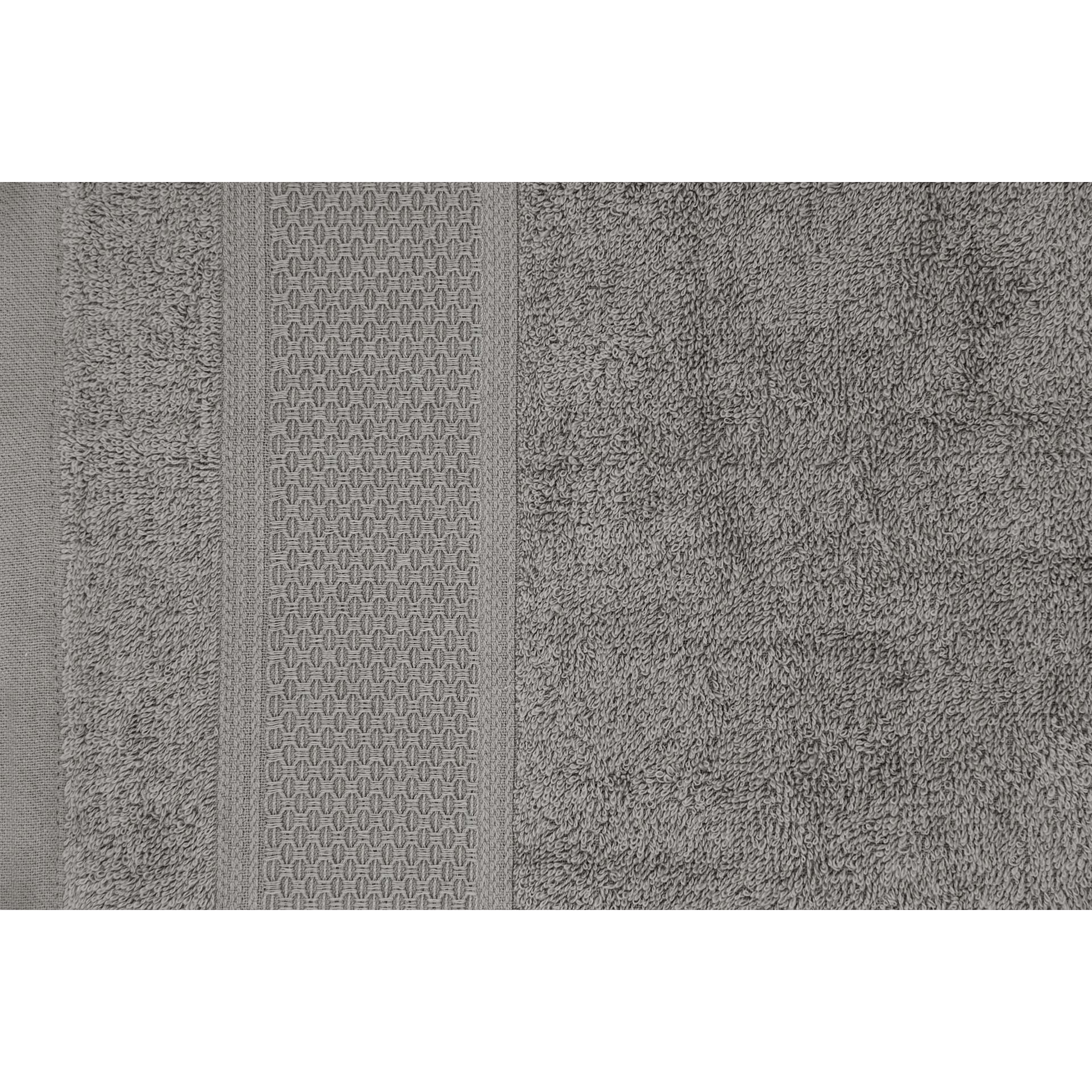 Badetuch James | Grau | 3er-Set