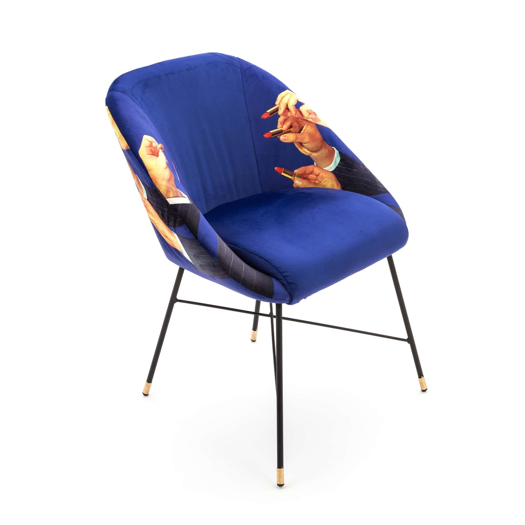 Chaise Rembourrée | Lipstick Blauw