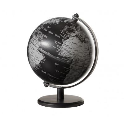 Mini Globus Gagarin | Mattschwarz