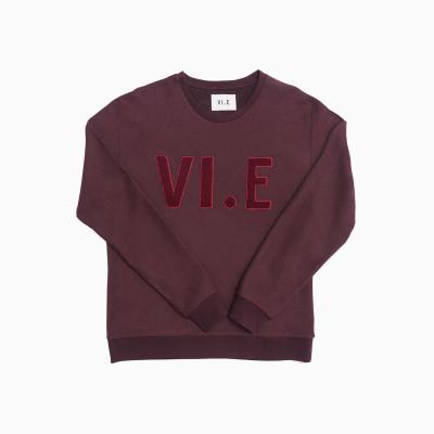 VI.E Sweatshirt | Mahogany