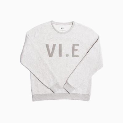 VI.E Sweatshirt | Silver Cloud