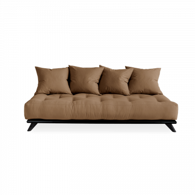 Sofa Senza | Black Frame + Mocca Mattress
