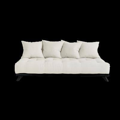 Sofa Senza | Black Frame + Natural Mattress