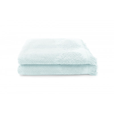 Set of 2 Guest Towels Bella 30 x 50 cm | Mint