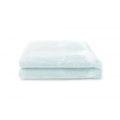 Set of 2 Guest Towels Bella 50 x 100 cm | Mint