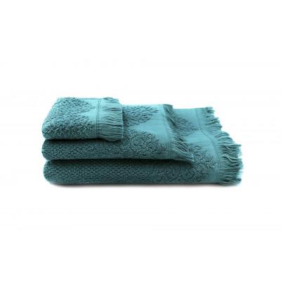 Set of 3 Towels Bella | Petrol