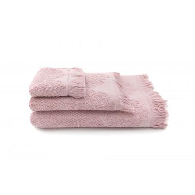 Towels Bella Set of 3 | Pink