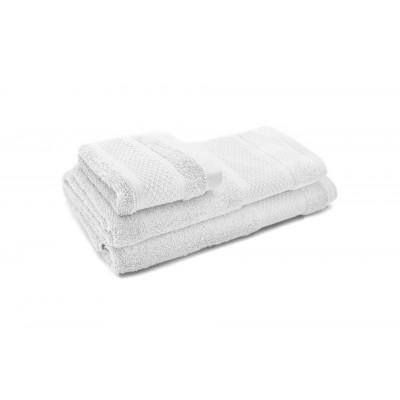 3er-Set Handtücher Elisa | Weiß