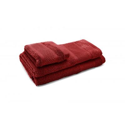 3er-Set Handtücher Elisa | Rot