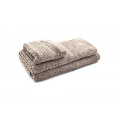 3er-Set Handtücher Elisa | Taupe