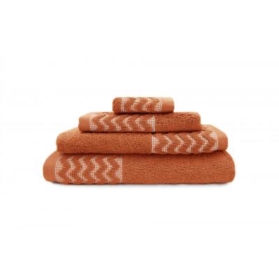 Badetuch George | Brick Rot | 3er-Set
