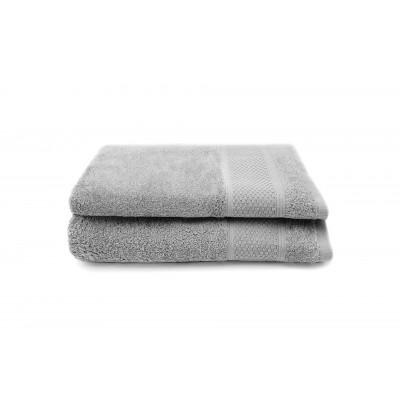 2er-Set Handtücher Gigi 30 x 50 cm | Silber