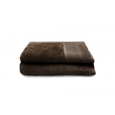 2-er Set Handtücher Gigi 30 x 50 cm | Schokolade