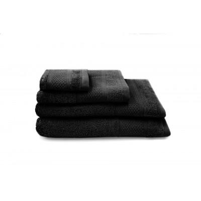 Set of 3 Towels Gigi | Black