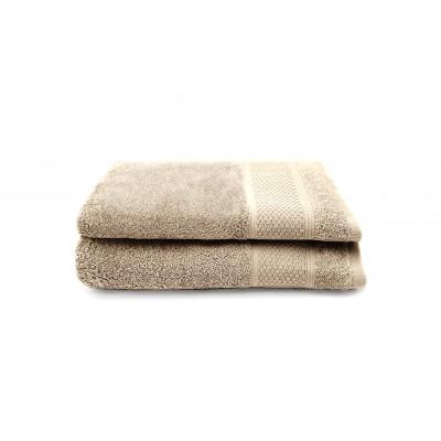 2-er Set Handtücher Gigi 30 x 50 cm | Taupe