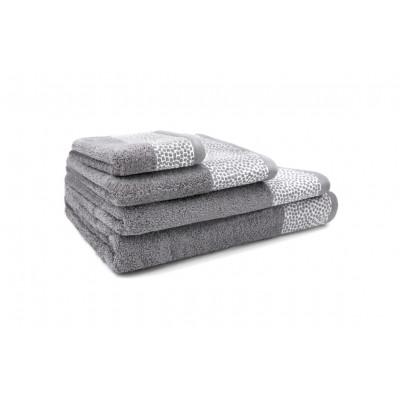 3er-Set Handtücher Kylie | Silber