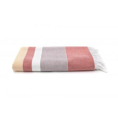 Handtuch Portofino 100 x 180 cm | Ziegelrot
