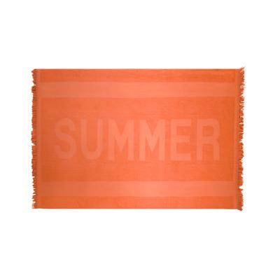 Handtuch Santorini 90 x 160 cm | Orange