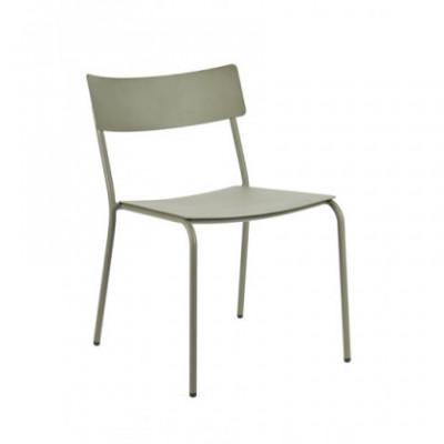 Stuhl ohne Armlehnen August | Eukalyptusgrün