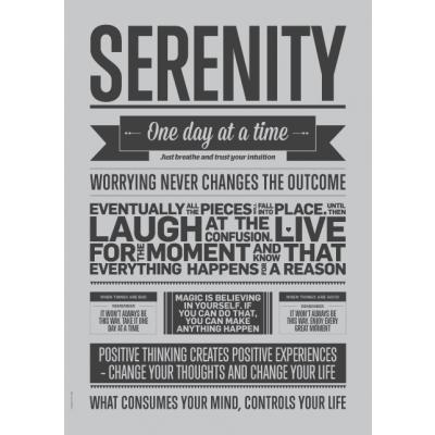 Shades of Grey Poster | Serenity