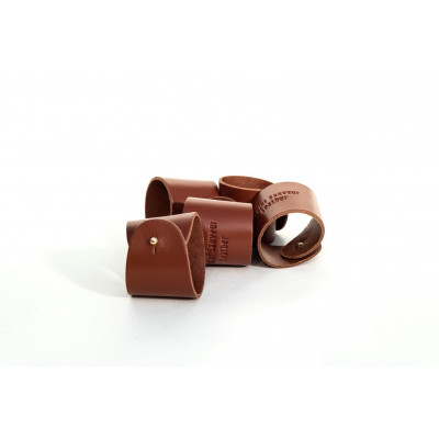 Serviettenhalter aus Leder