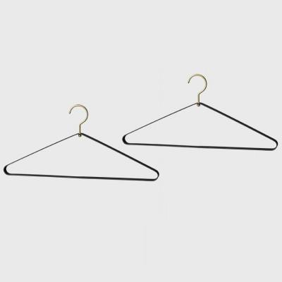 Hangers Vestis   Set of 2   Black & Gold