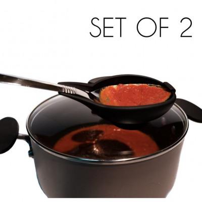 The Spoon Buddy™ Set of 2 | Black