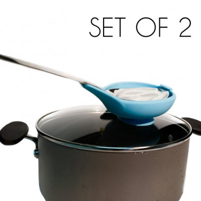 The Spoon Buddy™ Set of 2 | Blue