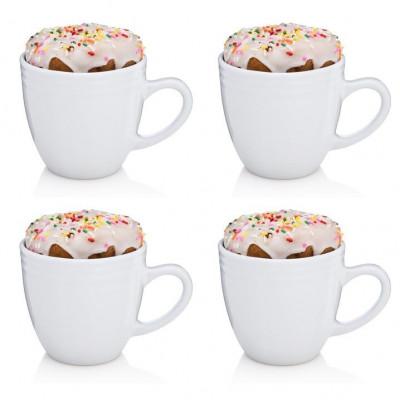 The BEST. MORNING. EVER. Mug Set of 4 | White