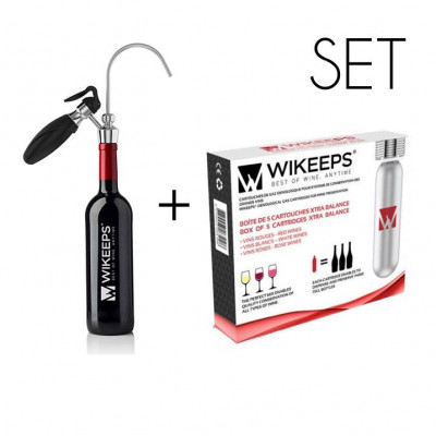 Wikeeps Essential Kit + Cartridges Xtra Balance 5