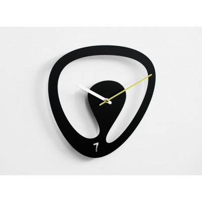 Sieben Uhr Schwarz