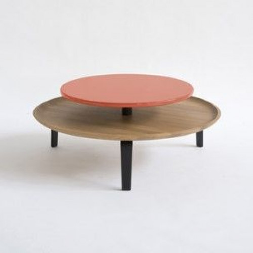 Large Secreto Coffee Table | Natural/Orange
