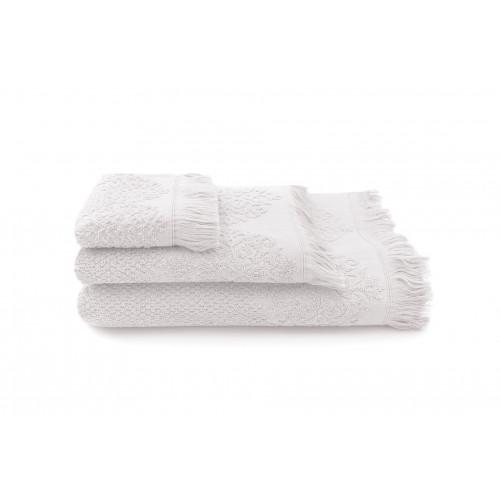 Handtuch Bella 3-er Set | Perle