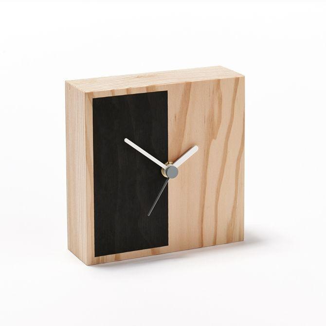 Secondary Clock Half | Black