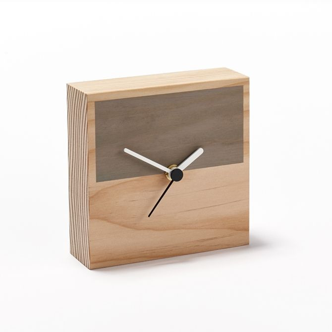 Secondary Clock Half | Grey