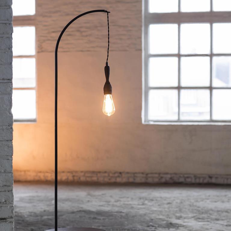 Studio Simple Tischlampe H 160 cm | Schwarz