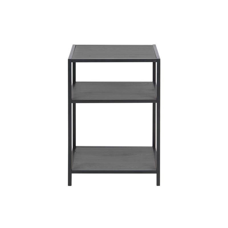 Bed Side Table Shell | Black