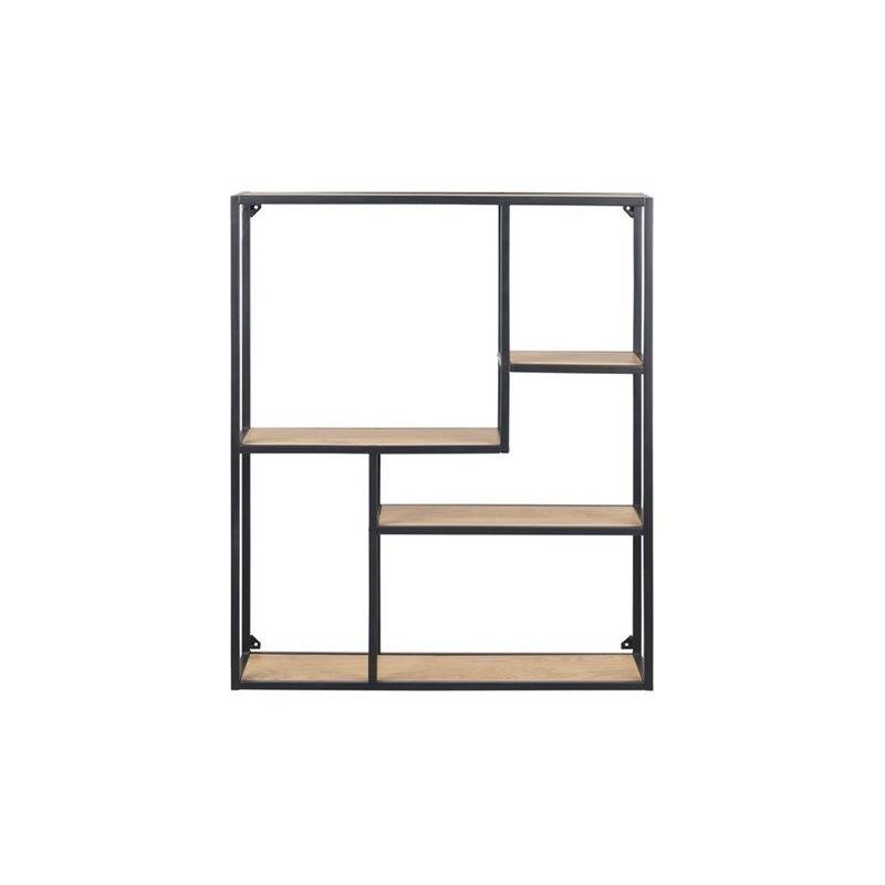 Bookcase Stanley 3   Oak / Black