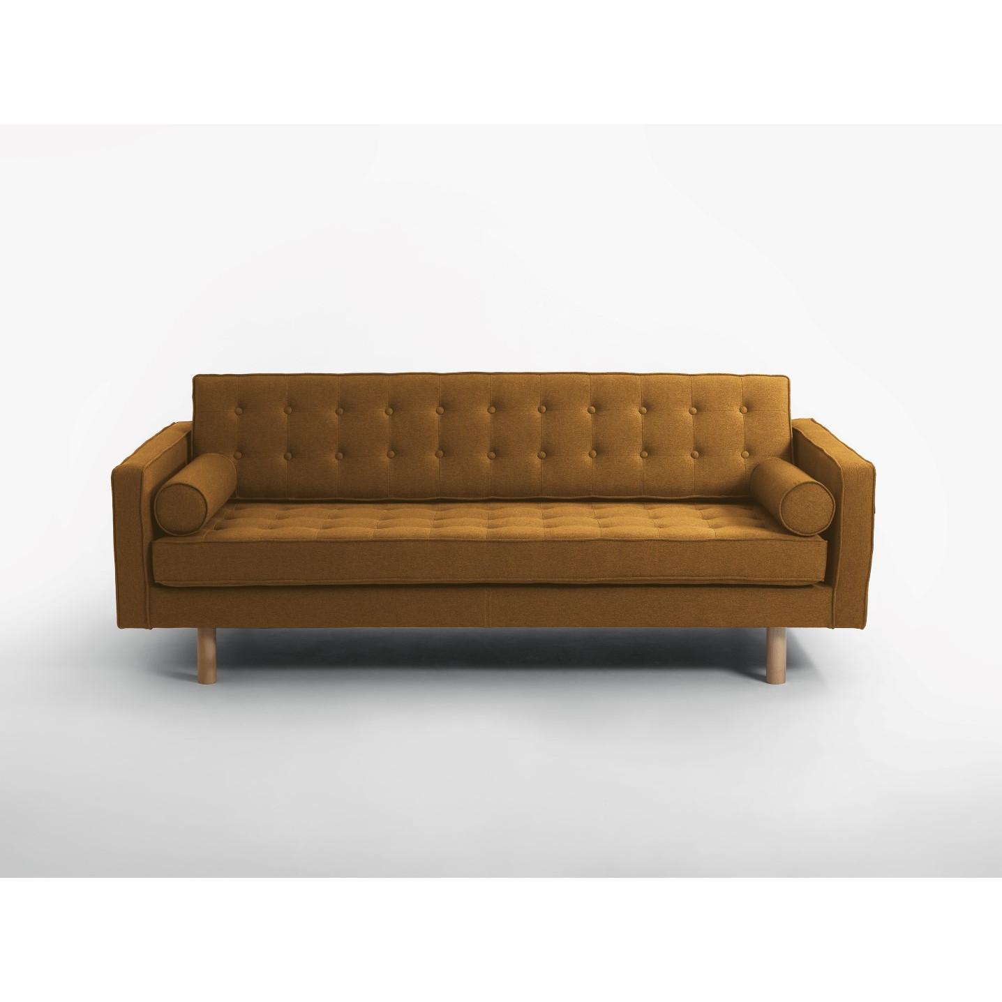 3-Sitzer-Schlafsofa Topic Wood | Honey