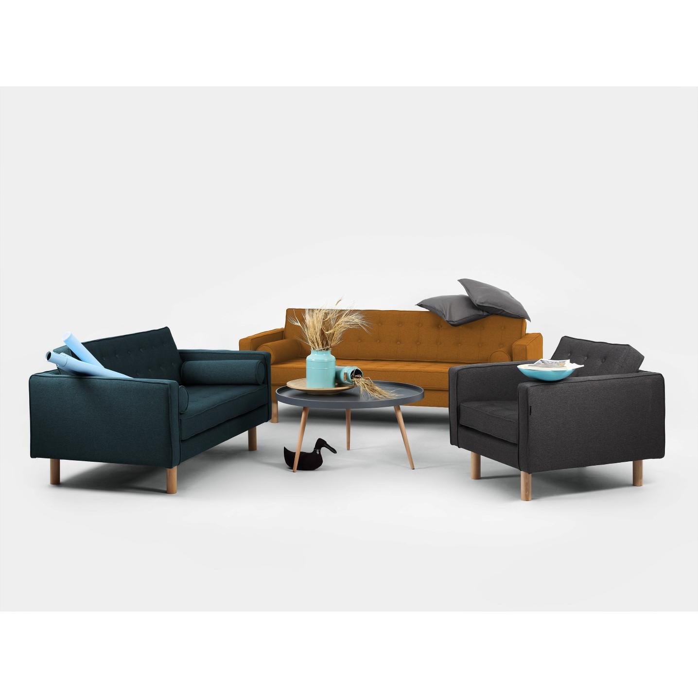 3 Seater Sofa Topic Wood | Honey