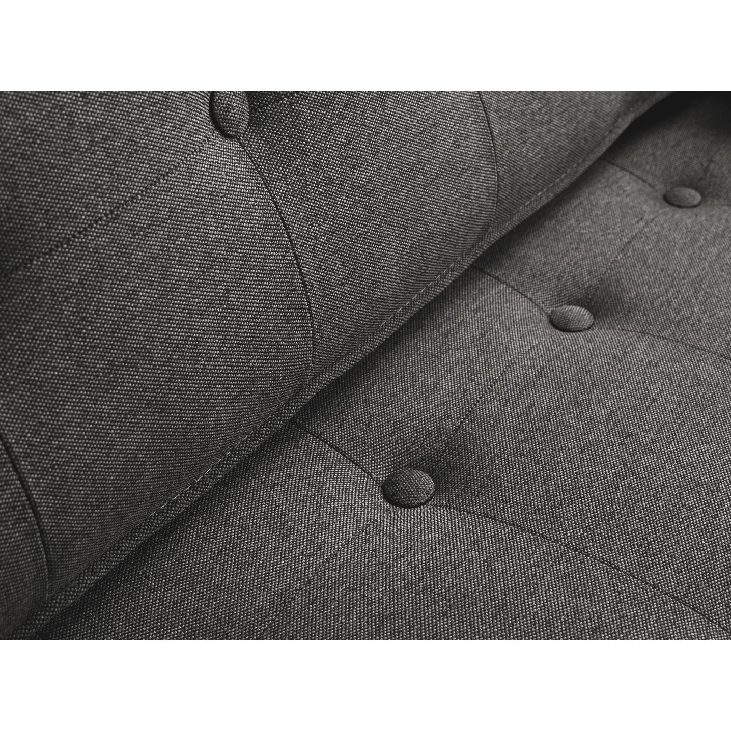 3 Seater Sofa Topic Wood   Steel