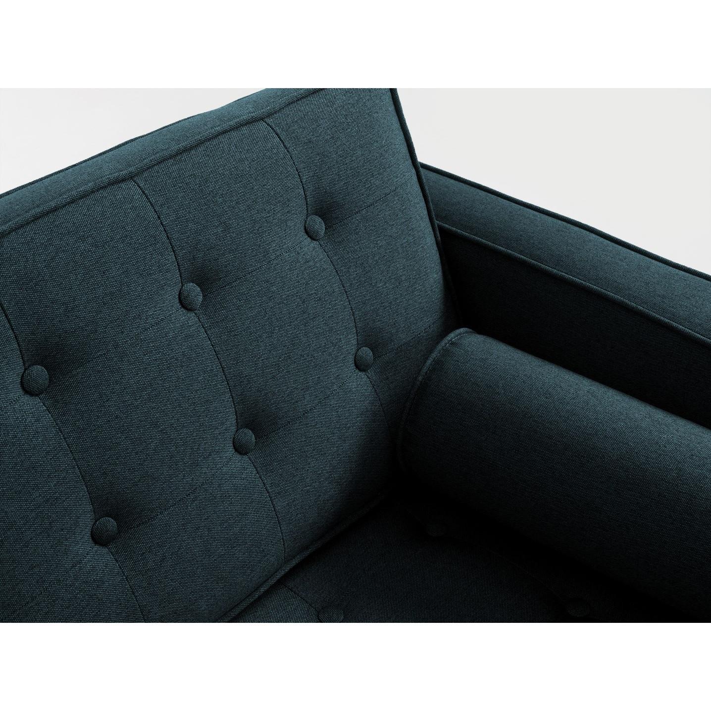 3 Seater Sofa Topic Wood   Deep Sea
